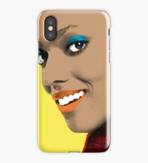 Martha Jones Pop Art iPhone Case/Skin