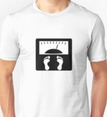 Weighting Scales Unisex T-Shirt
