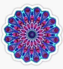Pegatina Mandala Cool Toned
