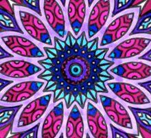Mandala Cool Toned Sticker