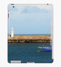 breakwater backdrop iPad Case/Skin