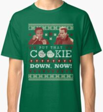 Put That Cookie Down, Now! Ugly Sweater Design Classic T-Shirt