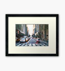 Lámina enmarcada Manhattan