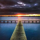 Autumn on the Jetty by Mitchell Harris