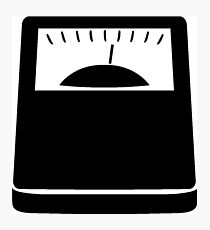 Weight Scales Photographic Print