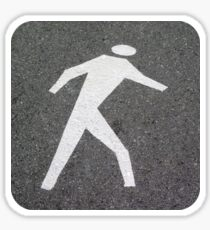 The Pedestrian Sticker