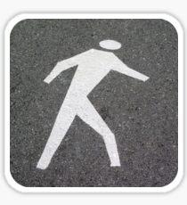 The Pedestrian Sticker