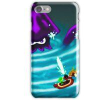 Kraken in the Great Sea iPhone Case/Skin