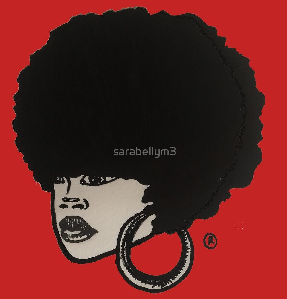 afroKAWAII by sarabellym3