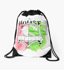 Wizard House Divided {Sly & Brave} Drawstring Bag