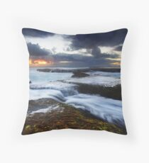 Montforts Moods Throw Pillow
