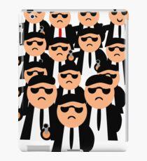 mens work1 iPad Case/Skin