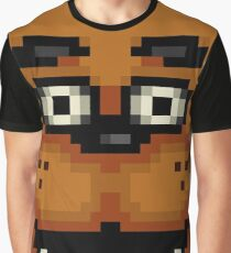 Five Nights at Freddy's 1 - Pixel art - Freddy Graphic T-Shirt