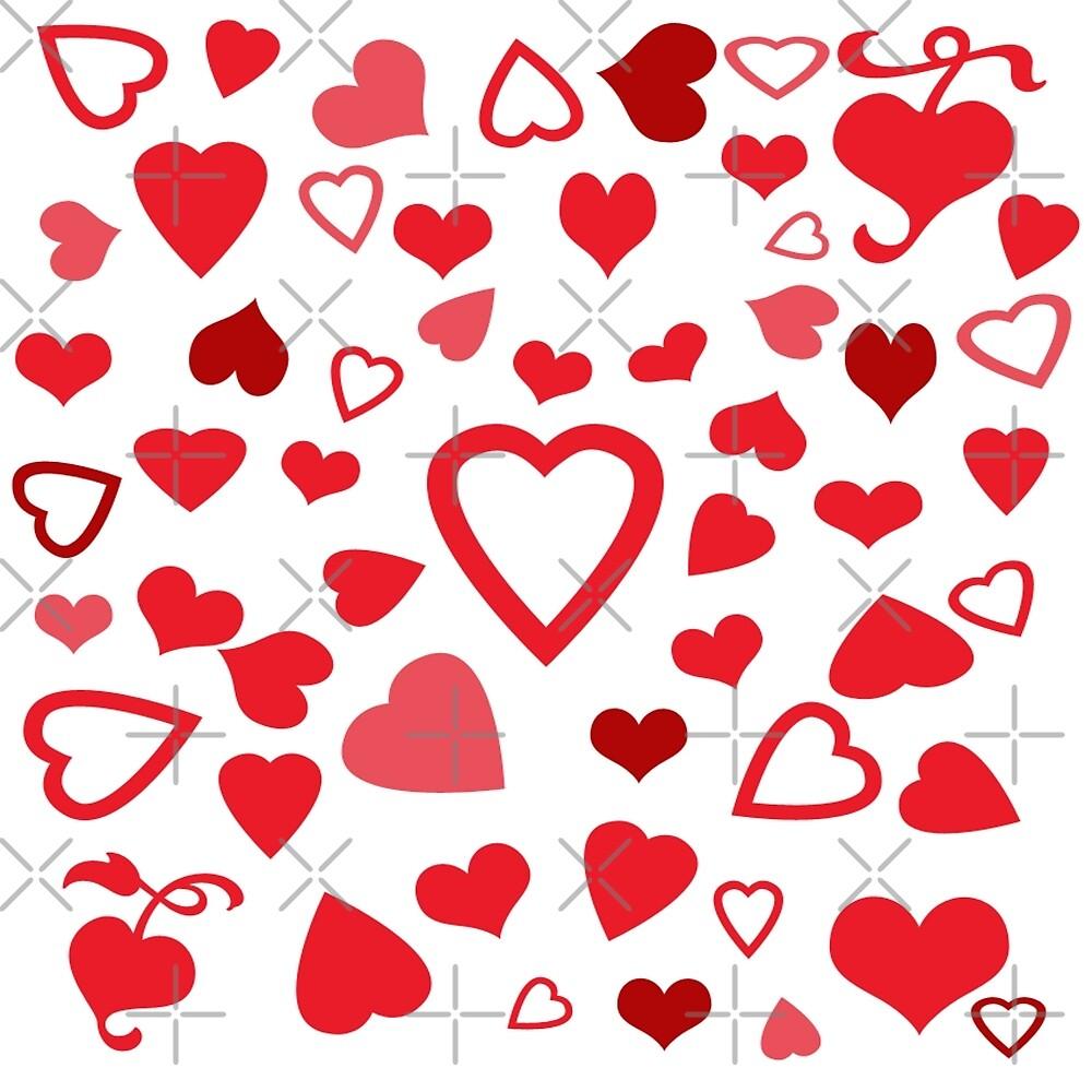 Hearts A'Plenty by FrankieCat