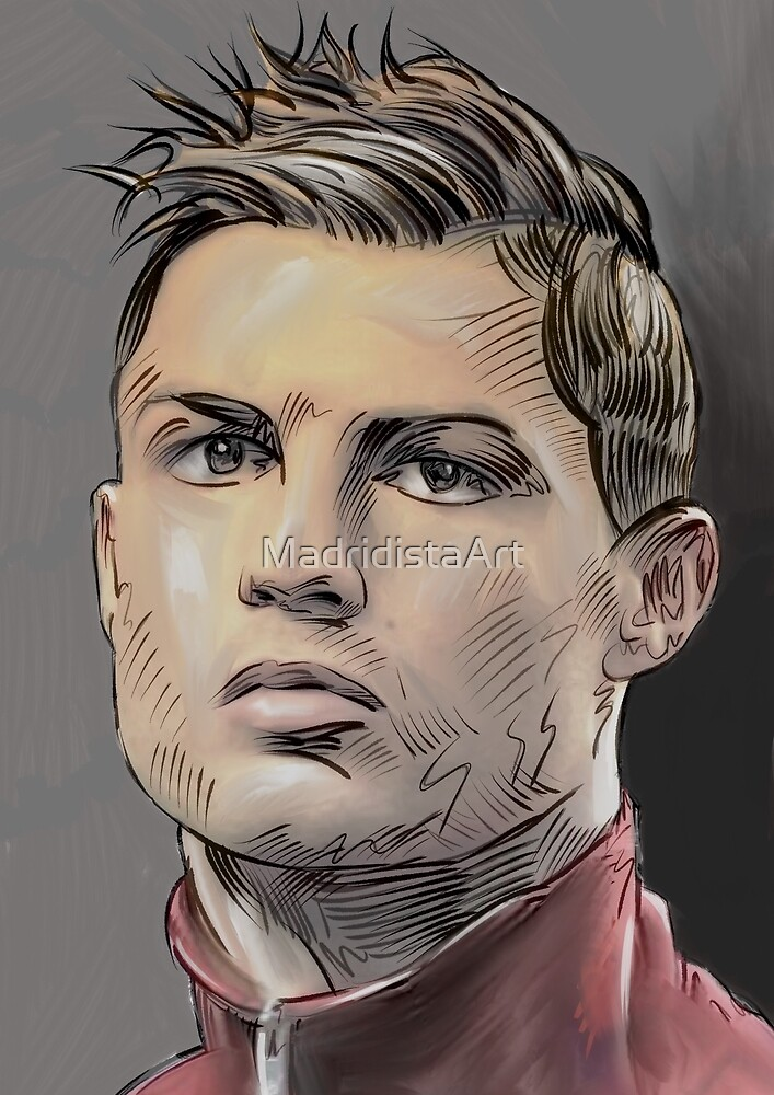 Cristiano7 by MadridistaArt