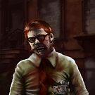 Zombie Teacher by starbright