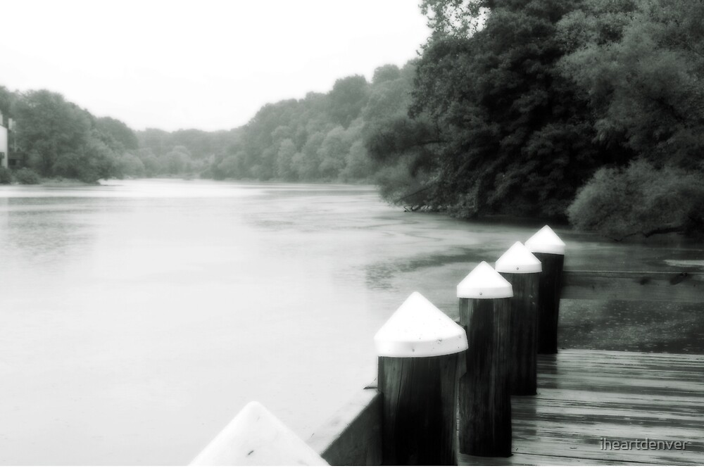 Rainy Day Dock by iheartdenver