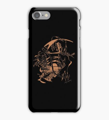 Reaper Out West iPhone Case/Skin