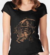 Reaper Out West Women's Fitted Scoop T-Shirt