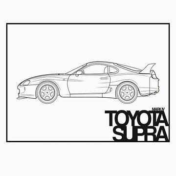 Toyota Supra by jbruntondesign