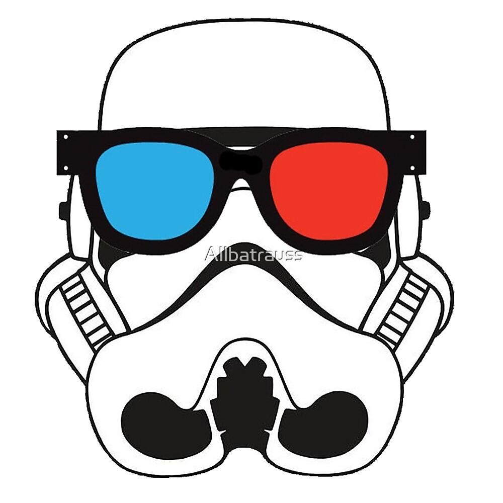 3D trooper  by Allbatrauss