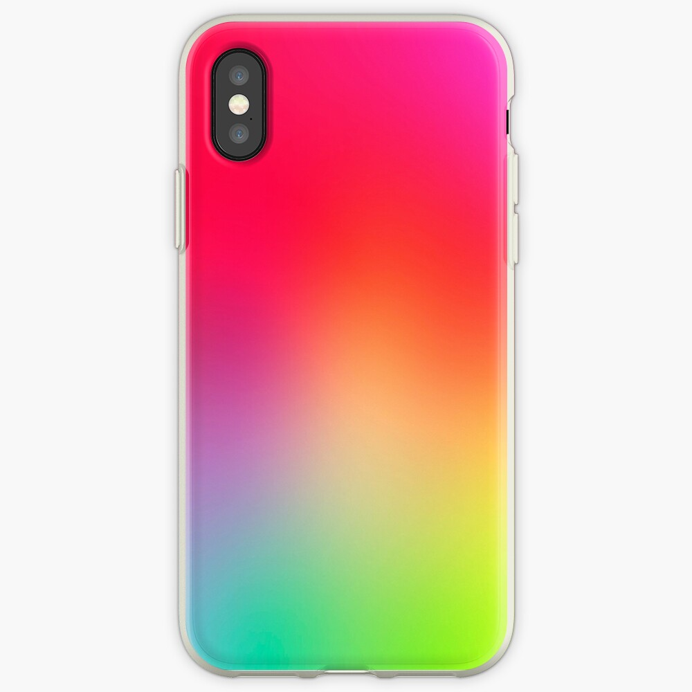Fluorescent Neon Colors iPhone-Hülle & Cover