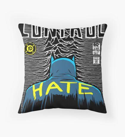 Post-Punk Bat: Control Throw Pillow