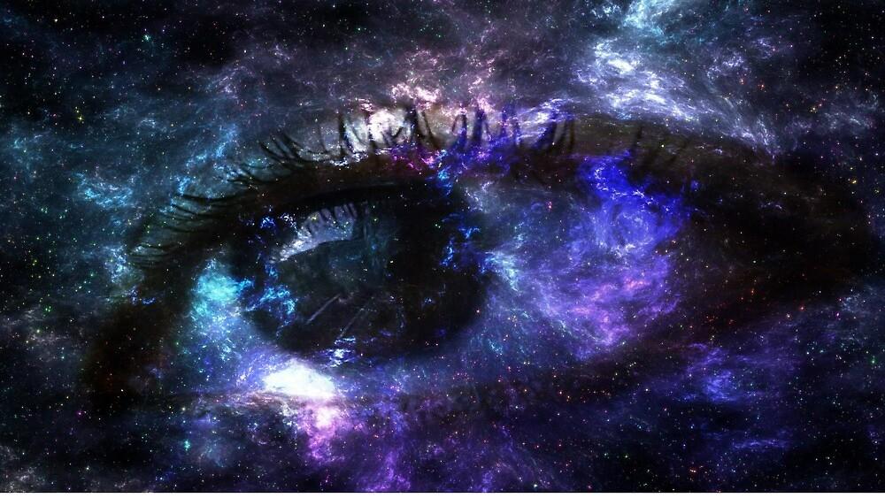 watching galaxy by Jess Oyo