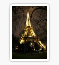 Eiffel Tower, through the trees Sticker