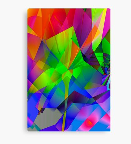 Playing with colours  3 Canvas Print
