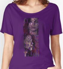 You Can't Walk Away From Your Truth Women's Relaxed Fit T-Shirt