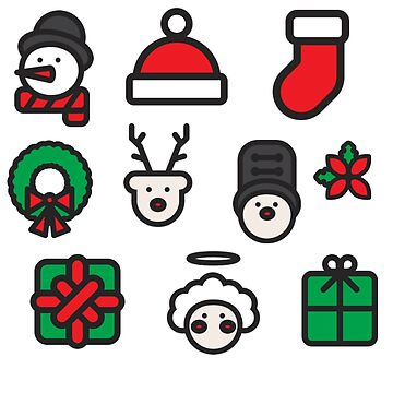 Christmas Icons by zogumus