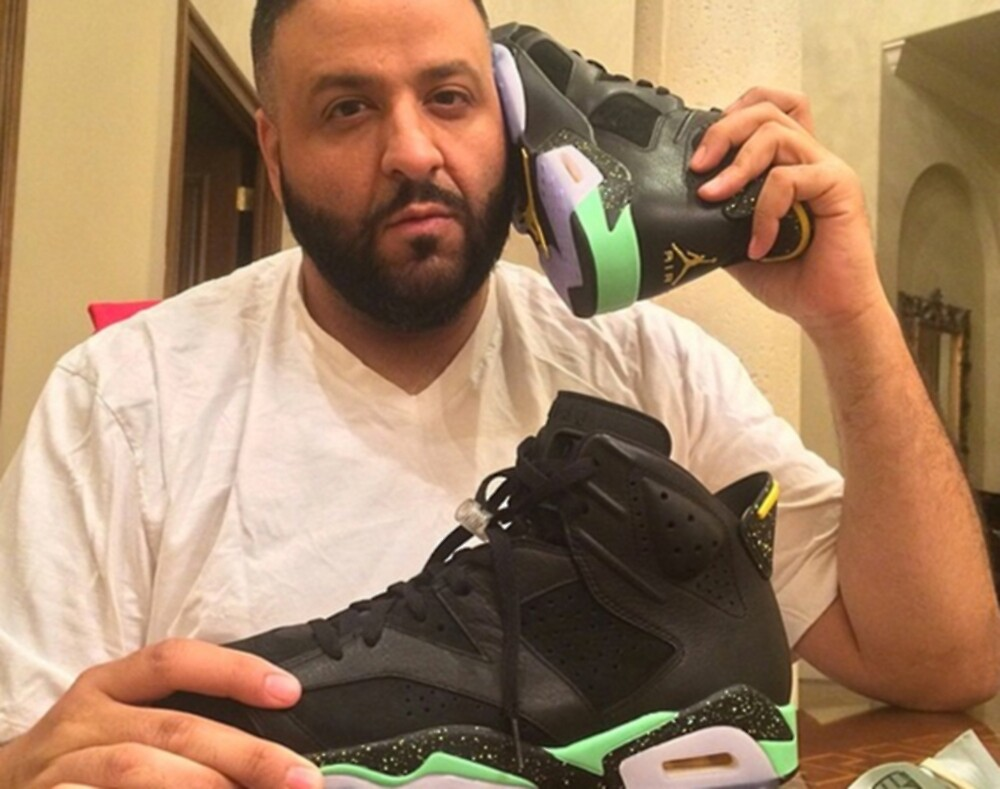 DJ Khaled Shoe Phone by isaackaufman