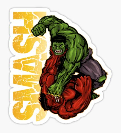 Smash Sticker