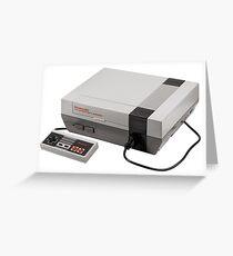 Nintendo Entertainment System Greeting Card
