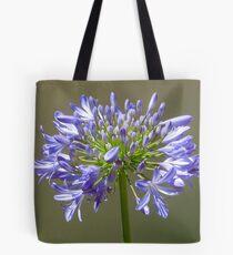 Agapanthus Flower Tote Bag
