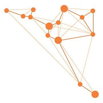 Sagitarius Geometric Constellation by JuShmu
