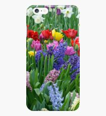 Colorful spring garden iPhone 6s Plus Case