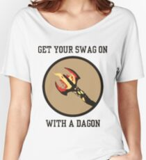 Get Your Swag on With a Dagon Women's Relaxed Fit T-Shirt