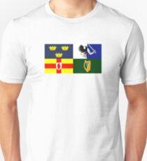 Four Provinces Flag of Ireland T-Shirt