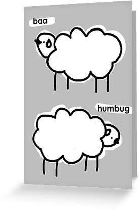 baa humbug by hellohappy