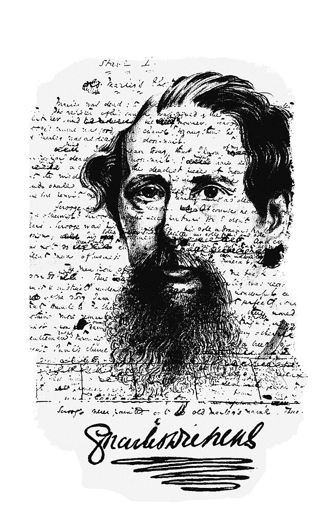 Charles Dickens by AllaTurca