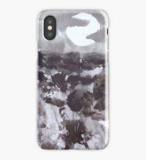 Moon Over New Mexico iPhone Case