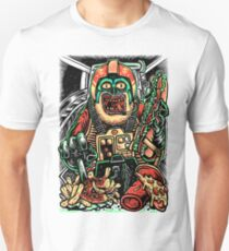 Zombie Star Farter Pilot T-Shirt