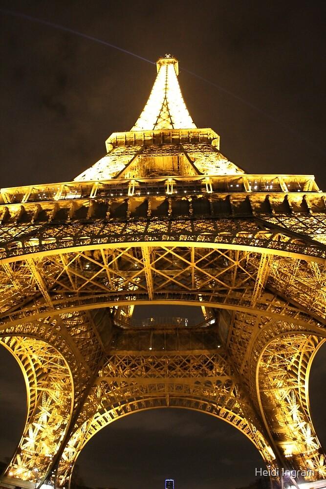 Eiffel Tower Up by Heidi Ingram