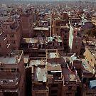 The view of Kathmandu by Mark  Bennett