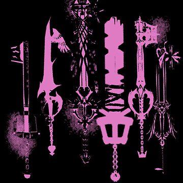 KeyKnives by RaesaK