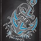 Chalk Board Tattoos - Hope by Rob Stephens