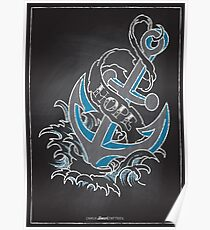 Chalk Board Tattoos - Hope Poster