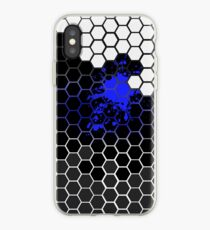 Six angular Blue iPhone-Hülle & Cover
